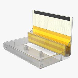Blank Cassette Box 3D model