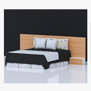 3D BED 20 model