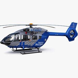 Airbus H145 Emergency Boston MedFlight 3D model