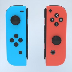 3D Nintendo Switch Joy-Con Controller