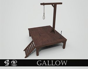 3D Small Gallows model