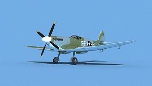 Supermarine Spitfire Mk IXb  V07 model