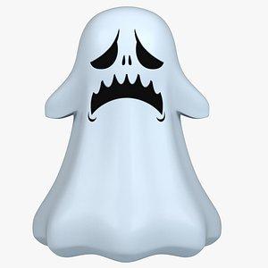 modeled ghost 3D model