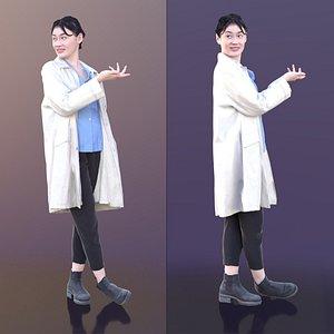 3D doc doctor talking
