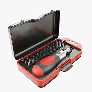 3D model screwdriver sets