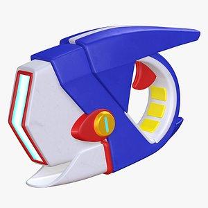 Weapon  Blaster Super  Mario Rabbids Sparks of Hope 8K model