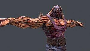 Monster hulk model