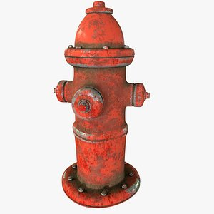 old hydrant 3D
