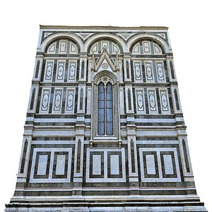 3D Florence Cathedral 2