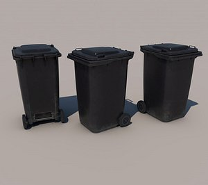 container dustbin 3D model