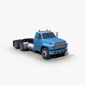 3D f700 semi truck