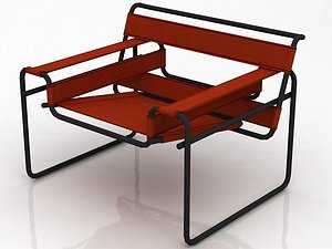 Breuer Wassily Chair model
