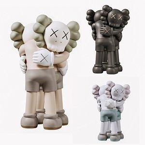 3D kaws toys model