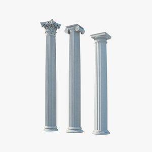 3D model Column orders