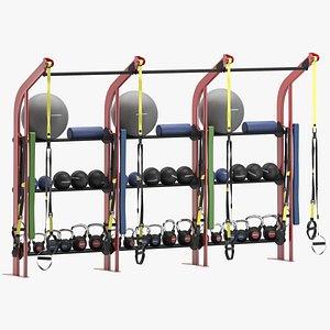 gym lifefitness s2 3D model