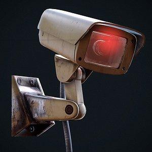 3D CCTV Surveillance Camera