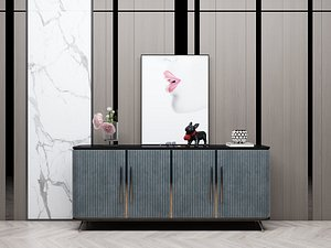 Modern Style Console - 014 3D