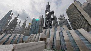 future city 3D model