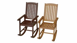 rocking chair 3D