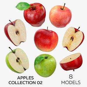 3D model Apples Collection 02 - 8 models