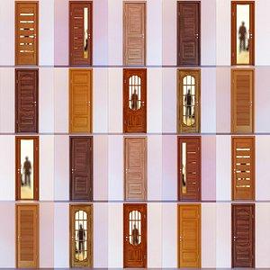 3D model doors kit constructor 1-10