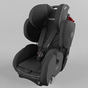 Recaro  Young Sport Hero Children Car Seat Core Performance Black model