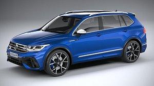 3D Volkswagen Tiguan R Allspace 2022 model