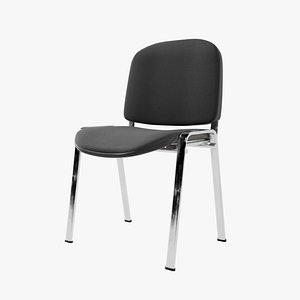 chair pbr metalic model