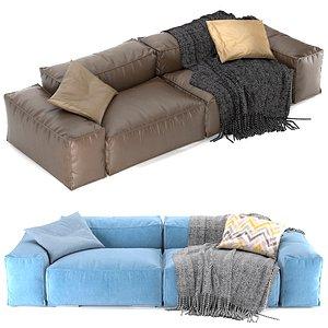 peanut b sofa 3D