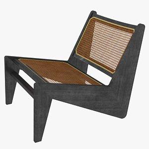 3D kangaroo jeanneret cassina bench