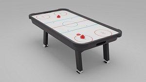 3D 3D Air Hockey Table - Blender