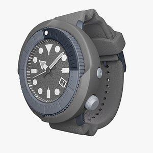 3D model watch diving