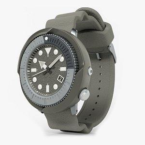 3D model watch diving