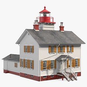 Yaquina Bay Lighthouse model