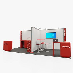 3D model Exhibition stand 3