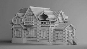 3D house russian model