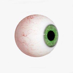 3D Eye realistic