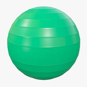 Pilates Ball v4 with Pbr 4K 8K1 3D model