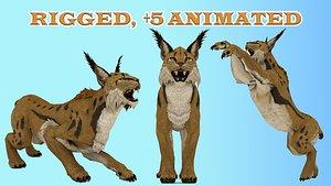 3D Game Ready Lynx