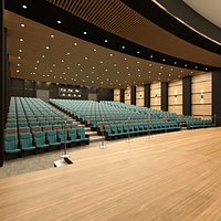 Auditorium Hall Concept