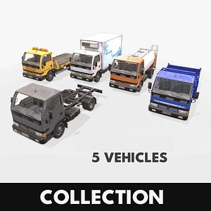3D truck pack chassis