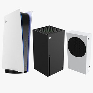3D New Generation Consoles Collection