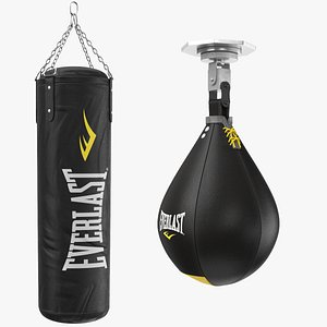 real punching bags 3D