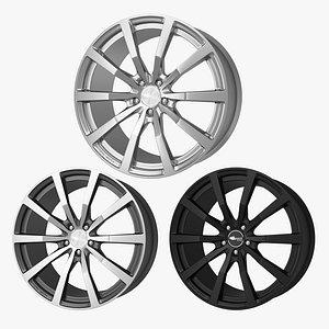 Alloy wheel Brock B32 3D model
