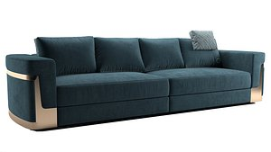 FENDI CASA RAY sofa 3D