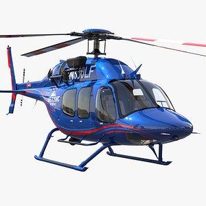 Bell 429 Life Flight 3D model