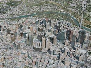 calgary city r 3D model