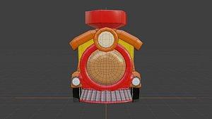 3D train blender cycles