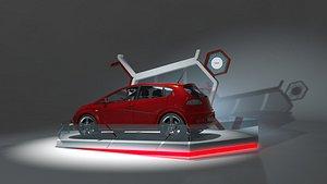 3D exhibition car