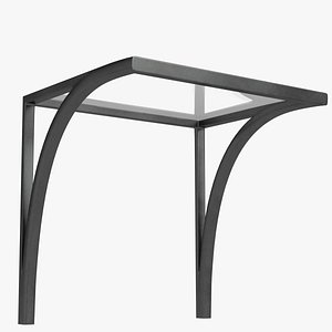 3D model Small canopy